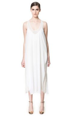 I love these dress. It's perfect for the summer, especially if you're travelling somewhere hot. If only the price tag wasn't so scary haha ;) http://www.zara.com/webapp/wcs/stores/servlet/product/uk/en/zara-neu-S2013/358003/1184047/LONG+STUDIO+DRESS
