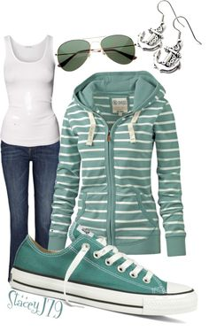 """Converse Contest - Lake Lovin'"" by staceyj79 ❤ liked on Polyvore"