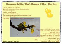Sonho De Uma Vida: Mensagem do Dia / Day's Message: O Ego - The  Ego