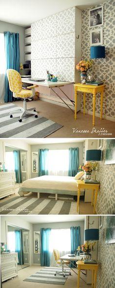 IKEA hack - The Murphy Bed/Desk
