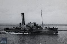 "Paddle Steamer Tug ""George Brown"" - Irvine"