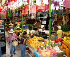 San Miguel de Allende market, Mexico