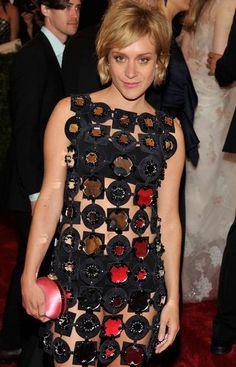 Chloé Sevigny en los MET 2012