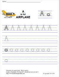 Writing Letters Worksheets Alphabet  Stroke Order Worksheet For