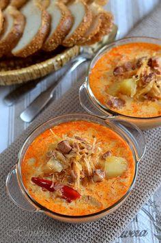 Kolozsvári savanyúkáposzta-leves 🍴 Hungarian Cuisine, Hungarian Recipes, Healthy Soup Recipes, Cooking Recipes, Good Food, Yummy Food, Cook Up A Storm, Slow Cooker Soup, Sauerkraut
