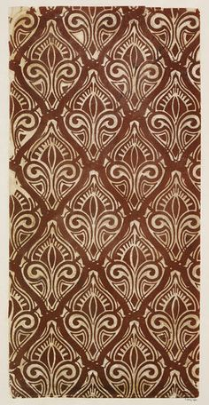 Wallpaper, 1850s, Hereford England | V&A