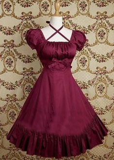 Vermeil Ruffkes Cotton Classic Gothic Lolita Dress Lolita Clothes