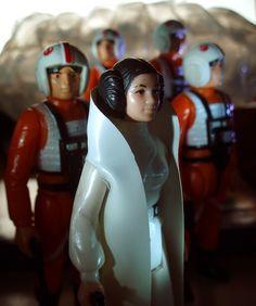 Luke Skywalker X-Wing Pilot, Princess Leia Organa