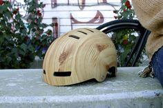 Woodgrain Bicycle Helmet | Mission Bicycle