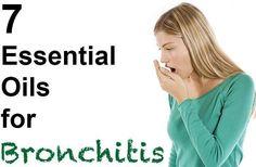 Essential Oils for Bronchitis Include Tea Tree, Eucalyptus, Rosemary, Lavender, Lemongrass, Thyme, Clove and Cinnamon Bark. Do not to mix antibiotics with