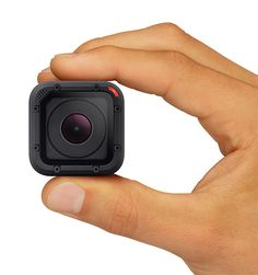 GoPro HERO4 Session. The latest cam from GoPro is 50% smaller and 40% lighter than any before it. The Session is also totally waterproof to 33′ without the need for an external case. The feature set is nearly identical to the original Hero, minus the 4k capability of the higher priced models, however one thing that might not sit well with long day trip users is the lack of an external battery. $400