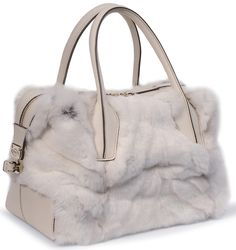 Tod's Mink D Bag from its 2012 Holiday Collection.