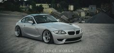 Stefan has built one clean Coupe.From building wheels to welding his own bodywork, Stefan embodies the StanceWorks DIY lifestyle Bmw Z4 M, Bmw Z4 Roadster, Bavarian Motor Works, Bmw Love, Wheels And Tires, Car Engine, Car Manufacturers, Super Cars, Bike