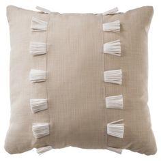 Nate Berkus™ Tassel Decorative Pillow