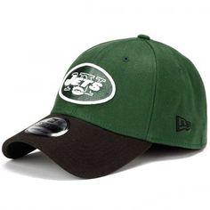 465272c76c1 New Era New York Jets TD Classic 39Thirty Hat - Green Black