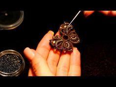Расшивка бусинами в Анкарсе от Angela Gambka. Часть 3.