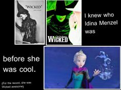 Idna is an amazing singer! I was stoked when I learned she was the voice of Elsa. Her voice is so powerful <3