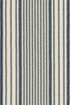 Dash & Albert | Mattress Ticking Woven Cotton Rug | Our woven cotton area rugs are so adaptable they make themselves at home in any room.  Constructed using a hand loomed flat weave in durable 100% cotton, these rugs are lightweight, reversible and affordable.