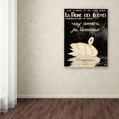 Lesquendieu Cremes Vintage Advertisement on Wrapped Canvas