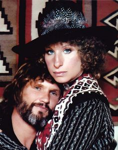 "Brice Taylor in her book ""Thanks for the Memories"" alleges Barbra Streisand is an MK Ultra/Monarch mind control slave. Cathy O'Brien in her book ""Trance Formation of America"" named Kris Kristofferson as a mind control slave handler. Movie Duos, Movie Stars, Movie Tv, Kris Kristofferson, Barbra Streisand, A Star Is Born, Female Singers, Hello Gorgeous, Girl Humor"