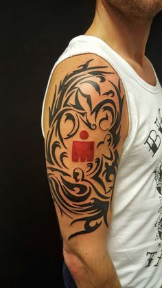 After research and evaluating different choises, this is my own creation as my ultimate #ironman #tattoo