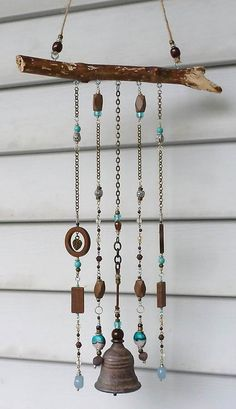 WIND CHIME/ wind bell / mobile / garden decor / home decor #7