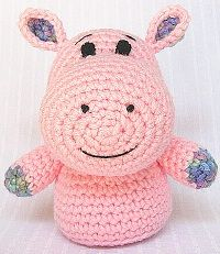 1500 Free Amigurumi Patterns: Shasta the Hippo: free crochet patten or this one!