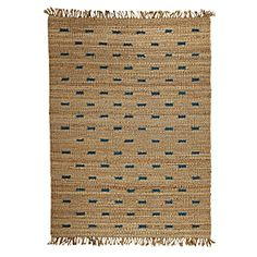 update - no longer available - Jute Dash Rug – Aegean Blue | Serena & Lily - 8x10 only