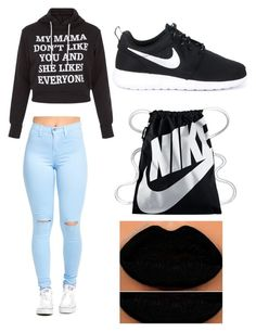 """""""Untitled #534"""" by kyrapples on Polyvore featuring NIKE"""