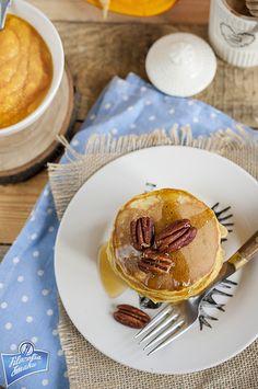 Placuszki dyniowe na słodko Nasu, Pancakes, Breakfast, Food, Morning Coffee, Essen, Pancake, Meals, Yemek