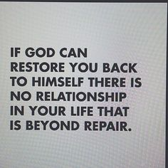 don't despair... it is possible if God is allowed the access, the space and the control!