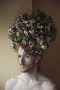 nirarieli:  Headpiece design:Philipp Shchekin Model: DancerAustin Goodwin