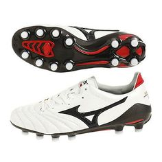 45ab35c1db60 Soccer Shoes MORELIA Neo 2 P1GA165009 Mizuno White Black US8.5 Men's Japan  New