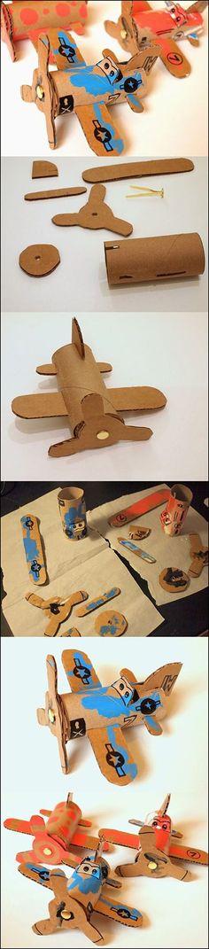DIY Toilet Roll Airplanes | DIY & Crafts Tutorials
