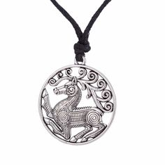 Find More Pendant Necklaces Information about Odin's Steed Viking Mens Jewlery Steampunk Pendant Necklace Scandinavian Norse Viking Horse Necklaces Male Trending Products,High Quality horse necklace,China pendant necklace Suppliers, Cheap necklaces male from Talisman Jewelry Factory on Aliexpress.com