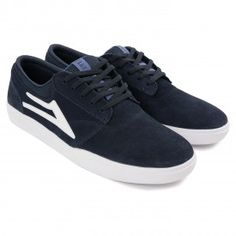 super popular c9599 66bbd Buy Griffin XLK Shoes in Navy  White by Lakai at Bored of Southsea, in  stock now with fast global shipping