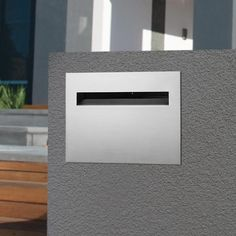 Stainless Steel Letterbox | eBay