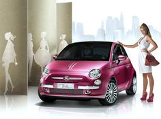 This one-of-a-kind Fiat 500 Barbie was unveiled for Barbie's 50th anniversary last year by Mattel and Fiat. As expected it's extremely pink and girlie, the interior embellished with sparkling crystals, including a light-up vanity mirror as well as an all essential range of lip glosses in the glove compartment.