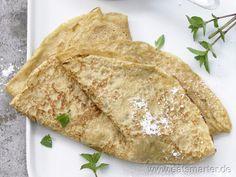 Vollkorn-Pfannkuchenteig (Grundrezept) - smarter - Kalorien: 124 Kcal | Zeit: 60 min.