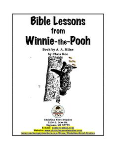 There are 10 chapters in Winnie-the-Pooh, by A. A. Milne.  In this free product there is at least one lesson for each chapter.  If you are interested in a more extensive study of Winnie-the-Pooh, a family/group guide is available:Family/Group Guide: Winnie-the-PoohReproducibles are available so that each student is able to have a copy of all of the fill-in-the-blank activities: Family/Group Guide: Winnie-the-Pooh ReproduciblesOther free products relating to Winnie-the-Pooh are also…