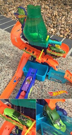 If your kids like to get hands-on with their experimenting, try this for a mess free solution that is sure to entertain. The Hot Wheels Color Splash Science Lab just needs warm and icy water to make the cars change color, providing wild results every time. Definitely a great gift idea.