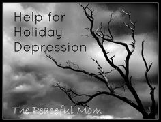 Help for Holiday Depression