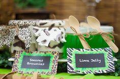 Jungle Themed Dessert Table