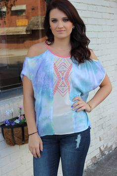aa6efa72cfb14 Shades of the Caribbean Top – Sisterly Chic Boutique Caribbean