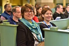 Rev. Dr Elaine Neuenfeldt and Rev. Anne Burghardt enjoying a worship service in Wittenberg. #Day318 until the Twelfth Assembly. #Assembly365 #LWFCouncil #Lutheran