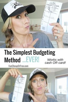 Simplest Budgeting Method EVER! + FREE printables! (Updated, new, and improved!) - Fun Cheap or Free