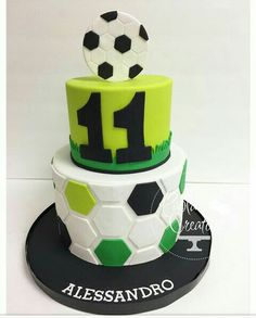 Uu Uu The post Uu appeared first on Pink Unicorn. Soccer Cupcakes, Soccer Birthday Cakes, Soccer Cake, Football Birthday, Sports Themed Cakes, Sport Cakes, Just Cakes, Cakes For Boys, Celebration Cakes