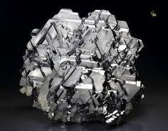 GALENA - SPINEL LAW TWIN, QUARTZ, SPHALERITE -- Krushev dol mine, Madan ore field, Rhodope Mts, Smolyan Oblast, Bulgaria