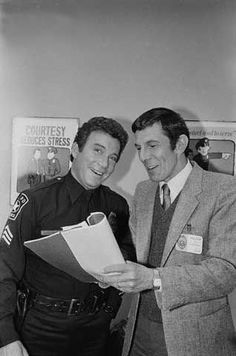 TJ Hooker and Guest Star Leonard Nimoy!