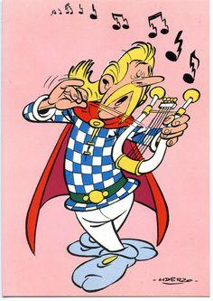 Cacofonix, the Bard Bd Comics, Funny Comics, Asterix E Obelix, Jordi Bernet, Comic Tutorial, Saturday Morning Cartoons, Humor Grafico, Little Twin Stars, Disney Cartoons